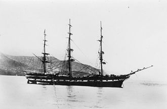 Peter Denny - The Peter Denny built 1865 by Duthie of Aberdeen belonged to the Albion company. She operated on the route to New Zealand including carrying emigrants.