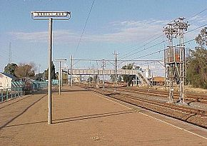 Christiana railway station