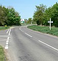 Station Road near Great Glen, Leicester - geograph.org.uk - 417309.jpg