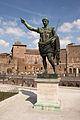 Statue of Roman Emperor Augustus, Via dei Fori Imperiali.jpg