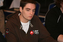 Paul-Ambrose tijdens de European Poker Tour in Monte Carlo