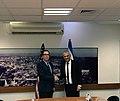 Steven Mnuchin and Moshe Kahlon in Jerusalem October 2018.jpg