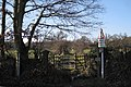 Stile and gate on Templer Way, Teigngrace - geograph.org.uk - 1659978.jpg