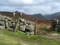 Stile and gate on the Mourne Wall - geograph.org.uk - 1206315.jpg