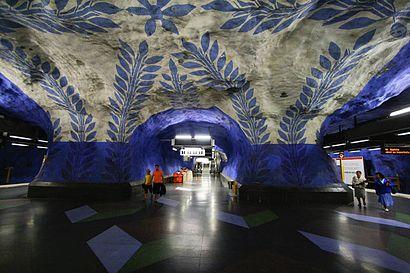 Vägbeskrivningar till T-Centralen med kollektivtrafik