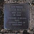 Stolperstein Dahn Grabenstraße 11 Gerda Wolff.jpg
