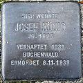 Stolperstein Delmenhorst - Josef König (1895).JPG