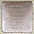 Stolperstein HB-Fliederstrasse 41a - Juda Lundner - 1871.jpg