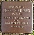 Stolperstein Horstmar Gossenstraße 1 Liesel Steinweg.jpg