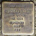 Stolperstein Offenburg Gertrud Maier.jpg