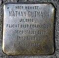 Stolperstein Raumerstr 21 (Prenz) Nathan Gutmann.jpg