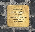 Stolperstein Unter den Linden 6 (Mitte) Max Bayer.jpg