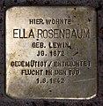 Stolperstein Westfälische Str 41 (Halsee) Ella Rosenbaum.jpg