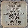 Stolperstein für Emma Forti in Piperno (Rom).jpg