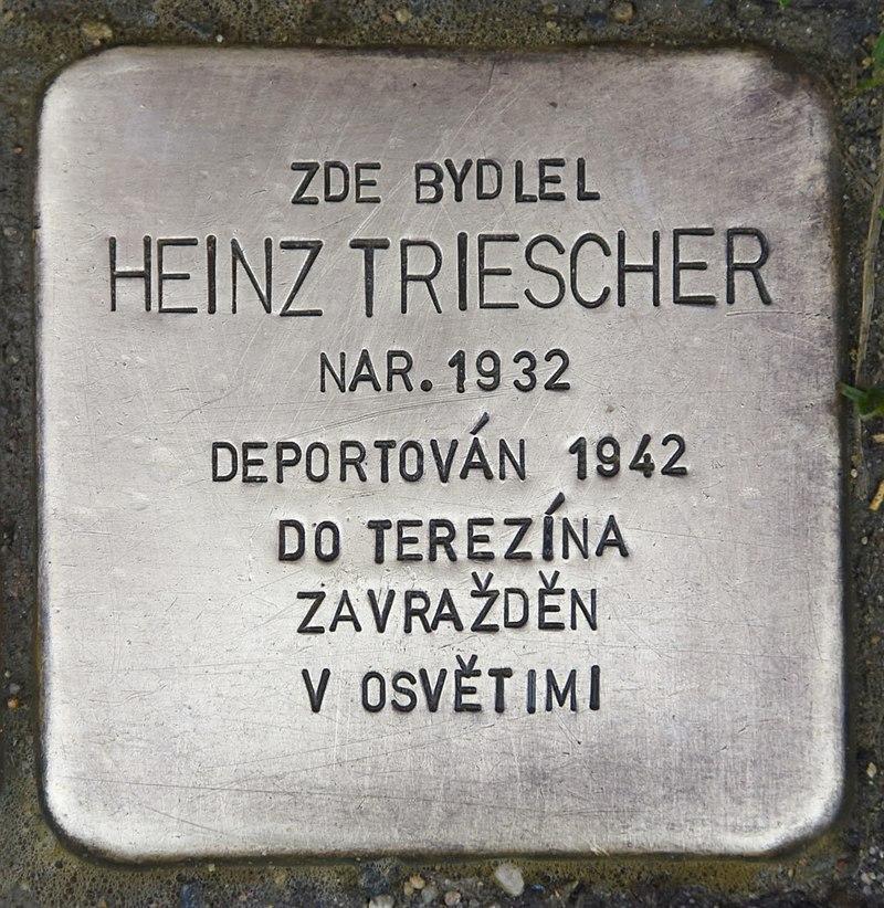 Stolperstein für Heinz Triescher.JPG