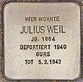 Stolperstein für Julius Weil (Heidelberg).jpg