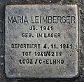 Stolperstein für Maria Leimberger.JPG