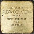 Stolpersteine Kalkar Markt 12; Alexander Stern.jpg