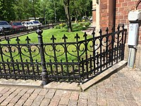 Storgatan 14 wrought iron fence Goteborg.jpg