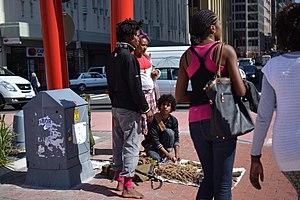 Muti - Street muti vendor in South Africa