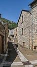 Street in settlement Blajoux 01.jpg