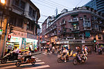 Streets of Shanghai at night, China, East Asia.jpg