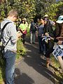 Students work to identify as many plant species as possible during a plant inventory. NPS Photo. (17680467499).jpg