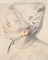 Study of a Woman's Head and Hands MET DP827465.jpg