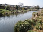 File:Suburban gardens, adjoining the canal, at Tiverton - geograph.org.uk - 1211849.jpg