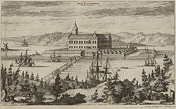 Nekadašnji izgled dvorca Stegeborg