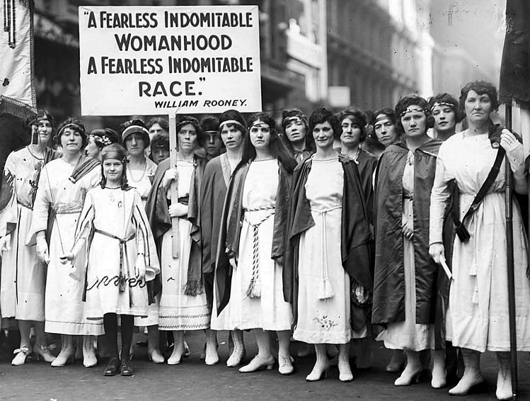 Suffragettes, New York Times, 1921