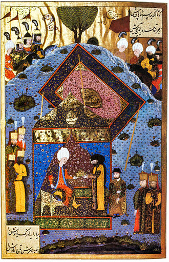 John Zápolya - The Ottoman Sultan Suleiman the Magnificent returns the Holy Crown to John Zápolya.