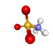 Ball-and-stick model of the zwitterionic form
