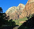Sunrise, Virgin River, Zion NP 2014 (29488810181).jpg