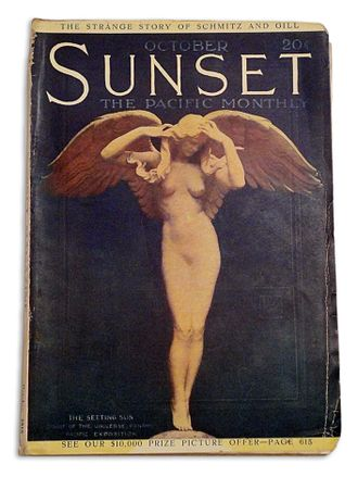 Audrey Munson - Image: Sunset FC October 1915