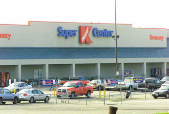 Chain store - A Kmart chain store