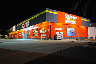 Super Retail Group - A Supercheap Auto retail store in Lawnton, Queensland