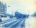 Surface station outside Kenmore Portal, October 2, 1914.jpg