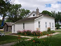 The Surveyors House is a Laura Ingalls Wilder historic site in De Smet, South Dakota