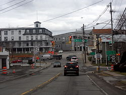 Intersection of Route 23 and Route 284