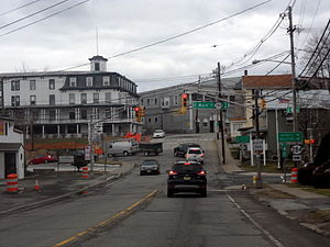 Sussex, New Jersey - Intersection of Route 23 and Route 284