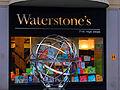 Sutton High Street, Sutton, Surrey, Greater London - Waterstones Bookshop and armillary.jpg