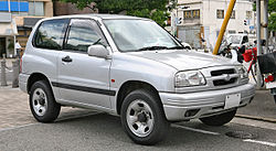 Suzuki Escudo 3-door, JDM version