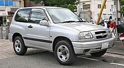 Suzuki Escudo 3-door, JDM version