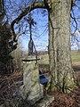 Svatý Kříž (osada Pelíkovic, město Rychnov u Jablonce nad Nisou) - krucifix na horním (jihovýchodním) okraji osady.jpg