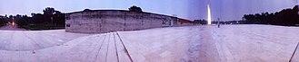 Swadhinata Stambha - Image: Swadhinata Stambha panorama (Independence Monument)