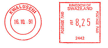 Swaziland stamp type B8A.jpg