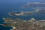 Sydney aerial view - Kurnell, La Perouse, Cronulla and Botany Bay.jpg