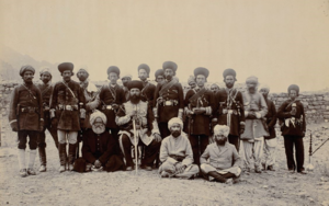 Ahmadiyya in Afghanistan - Syed Abdul Latif sitting on the right of Emir Abdur Rahman Khan