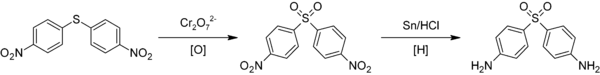 Synthesis of dapsone.png